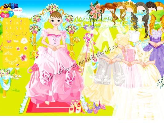 Игры для девочек одевалки с макияжами.